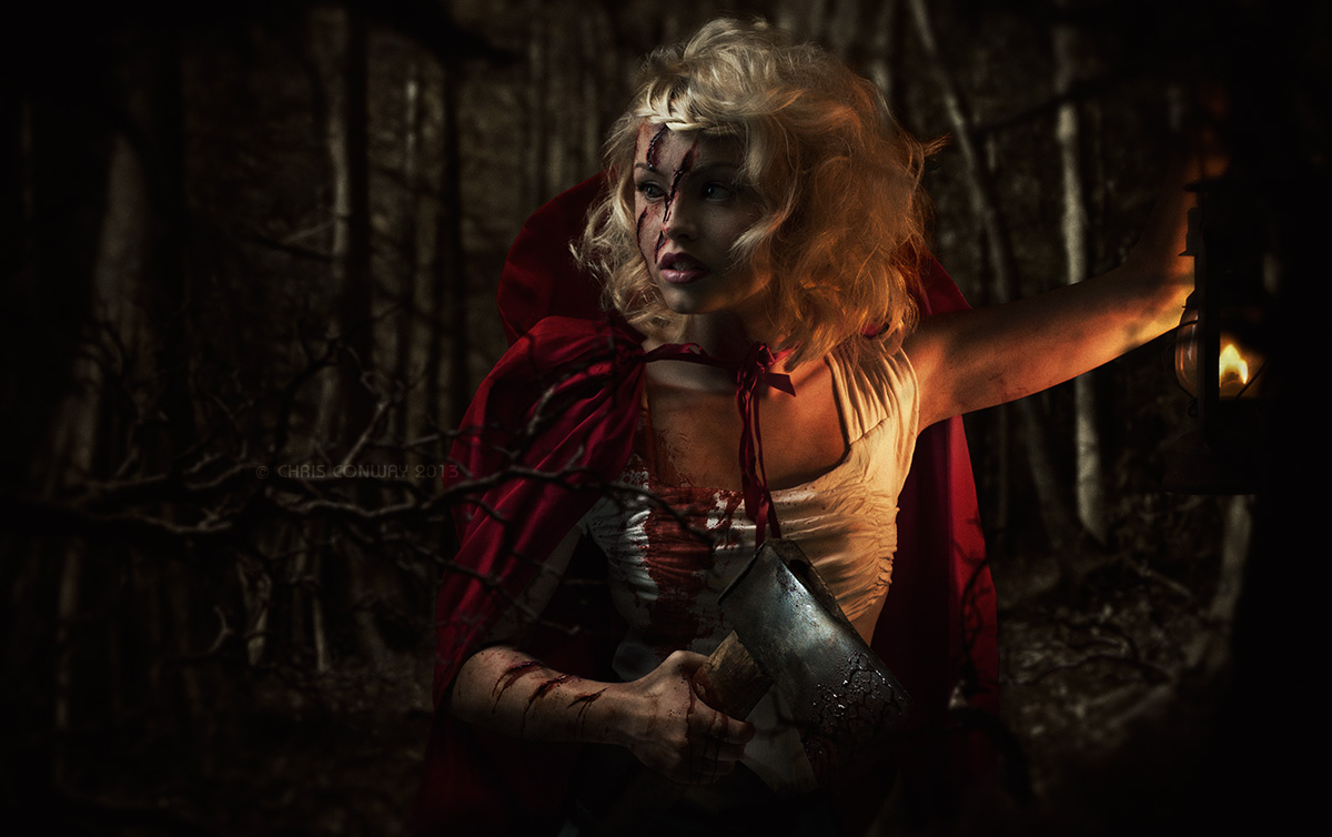 Photographed for Halloween 2013 ... more info, behind-the-scenes pics and a before/after on my website here:<a rel=
