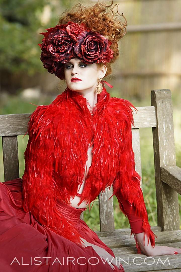 Model Charlotte Felski<br /> Designer Molly Mishi May<br /> MUA Jenny Davies<br /> Hair Peachy Stylist<br /> Headdress Creations by Liv Free<br /> Stylist Sue Fyfe-Williams