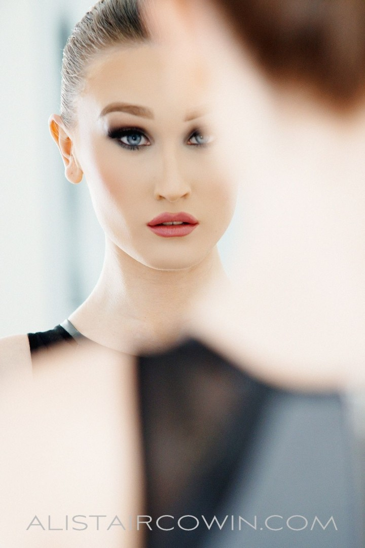 Photographed for Alistair Cowin's Beauty Book - 2015   Model: Alyxandra