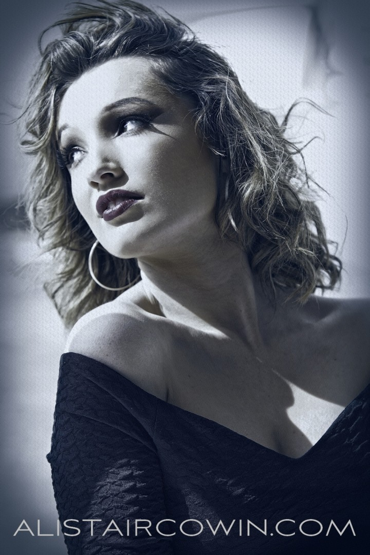 Studio image taken for model's Portfolio