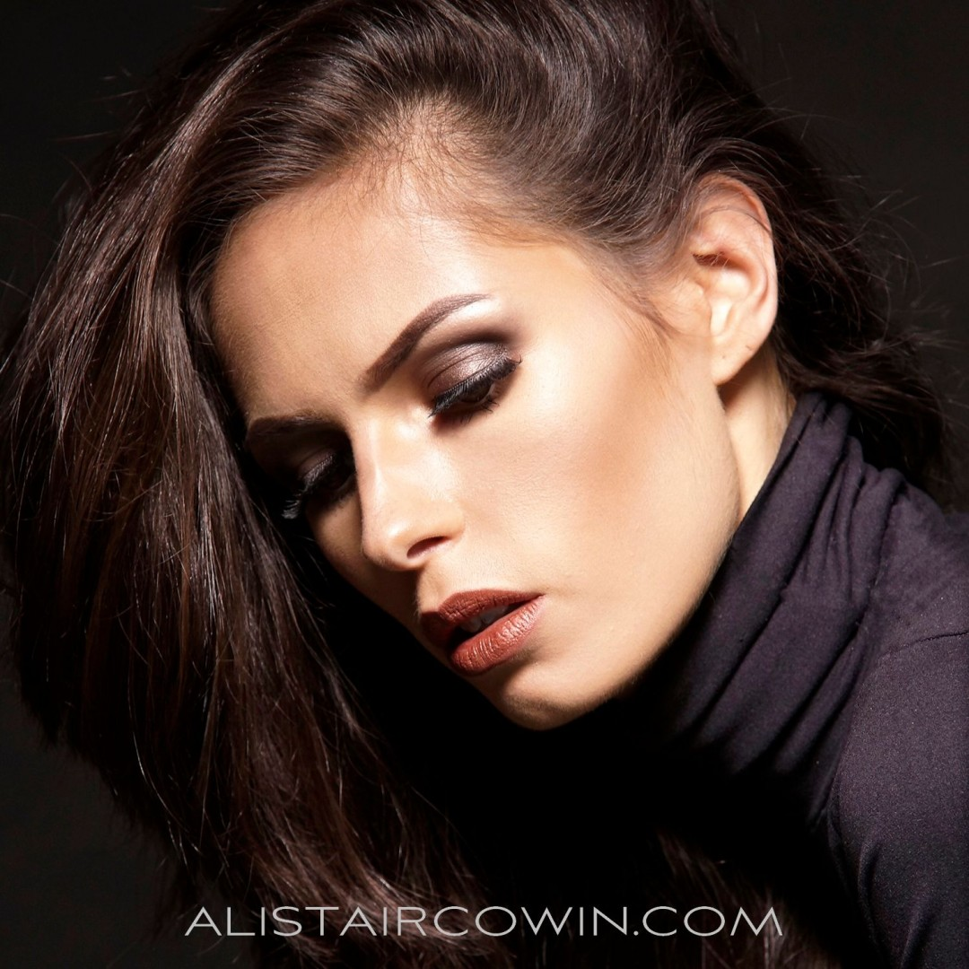 Photograph taken for Alistair Cowin's Beauty Book - 2105<br /> Model: Rebecca White<br /> MUA: Alice Taylor