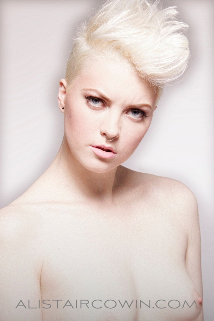 Photographed for Alistair Cowin's Beauty Books and the model's Portfolio<br /> Makeup: Sammy Carpenter<br /> Model: Lilah Boo