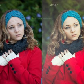 Before & After - Retouching