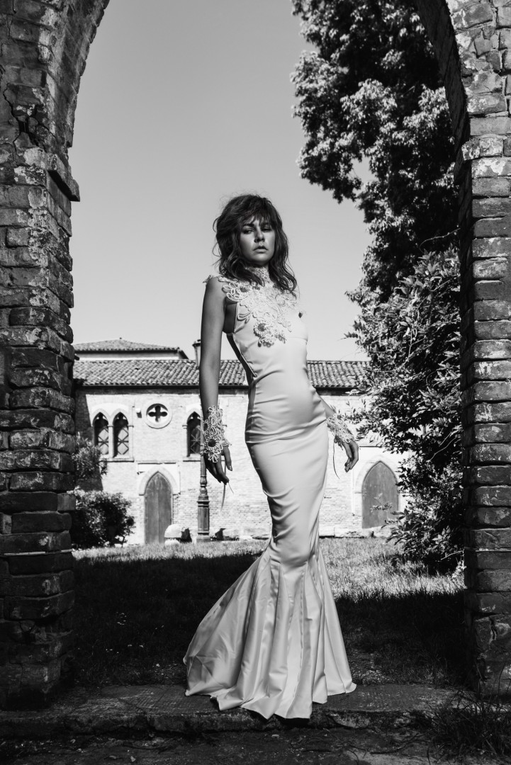 Venice May 2016 - Weddibg Dress #1 by Chio Couture
