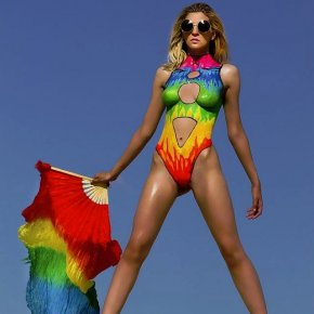 The Painted Rainbow Swimsuit
